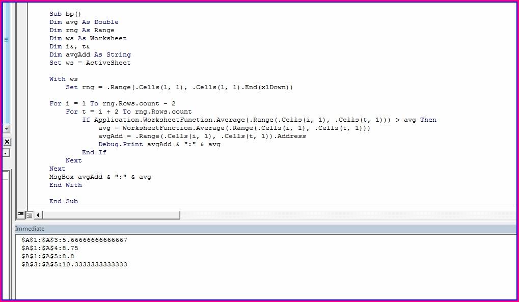 Excel Vba Worksheetfunctionaverage If