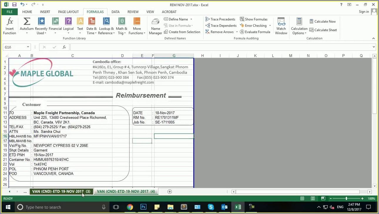 Excel Worksheet Name Not Visible