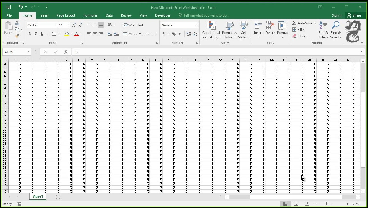 Excel Worksheet To Print On One Page