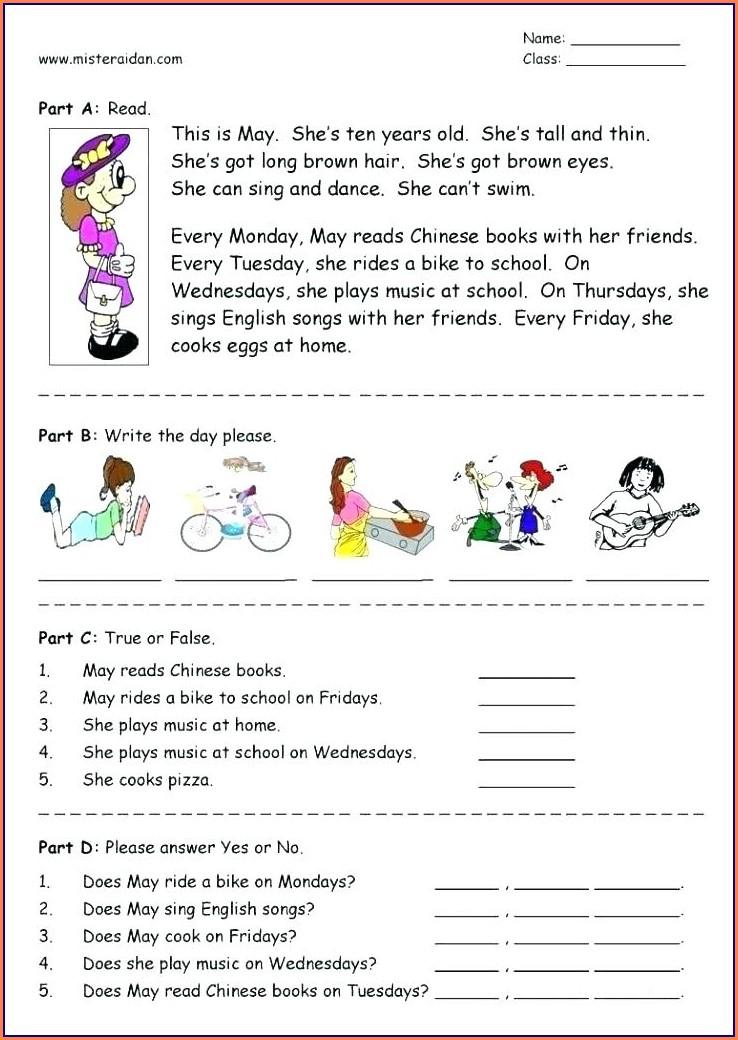 Filipino Reading Comprehension Worksheets For Grade 5 Pdf