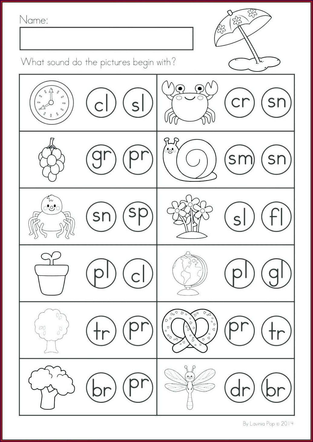 First Grade Free Printable Cut And Paste Worksheets