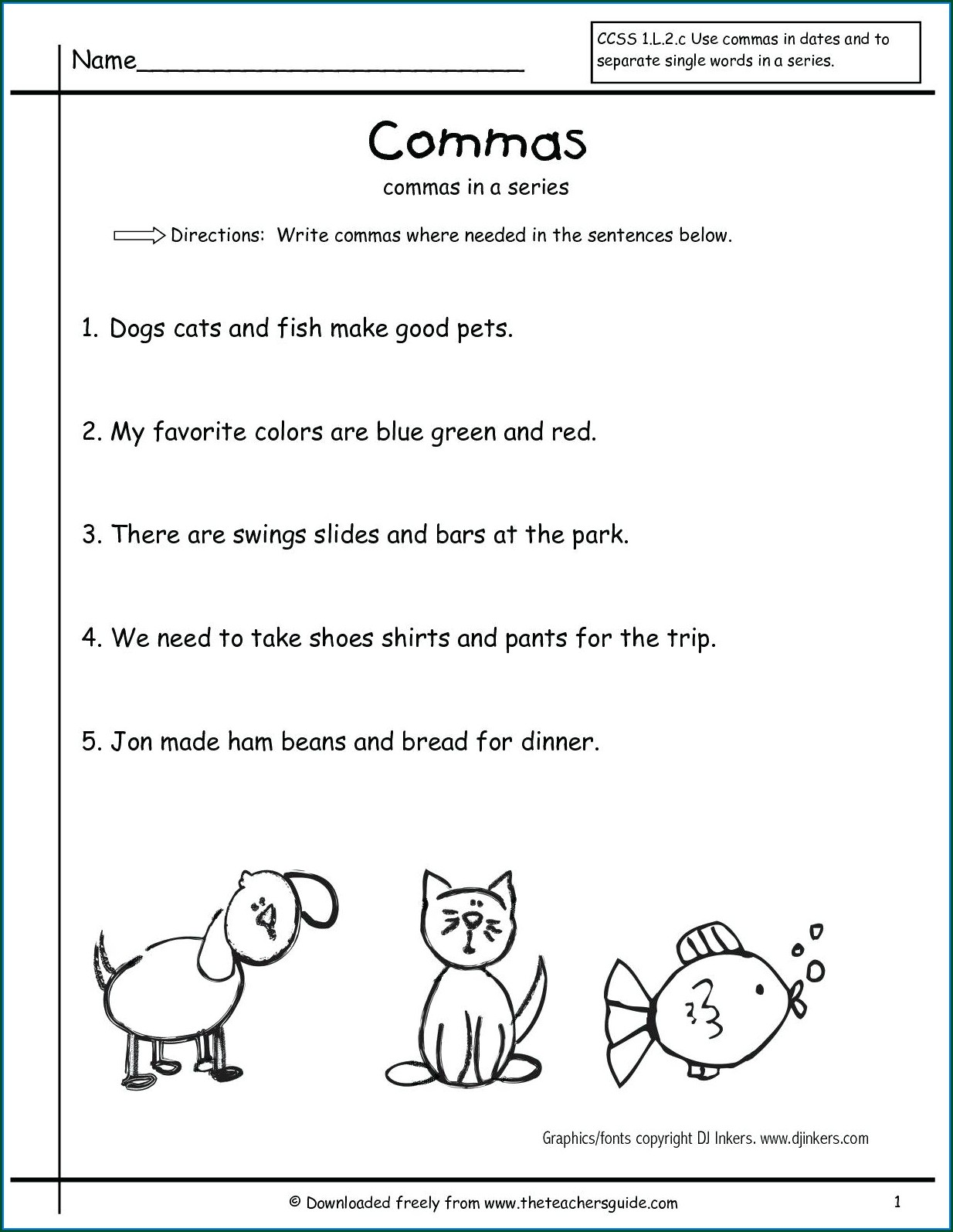 3rd Grade Nouns And Verbs Worksheets Worksheet Resume