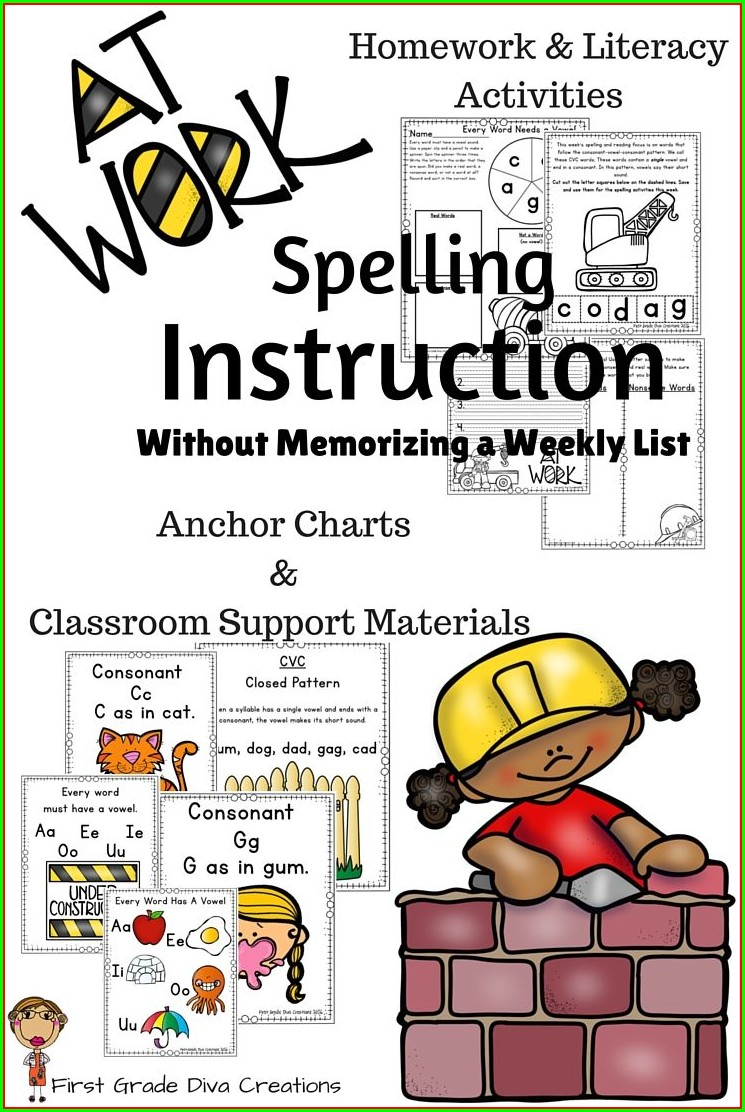 First Grade Phonics Worksheets Grade 1
