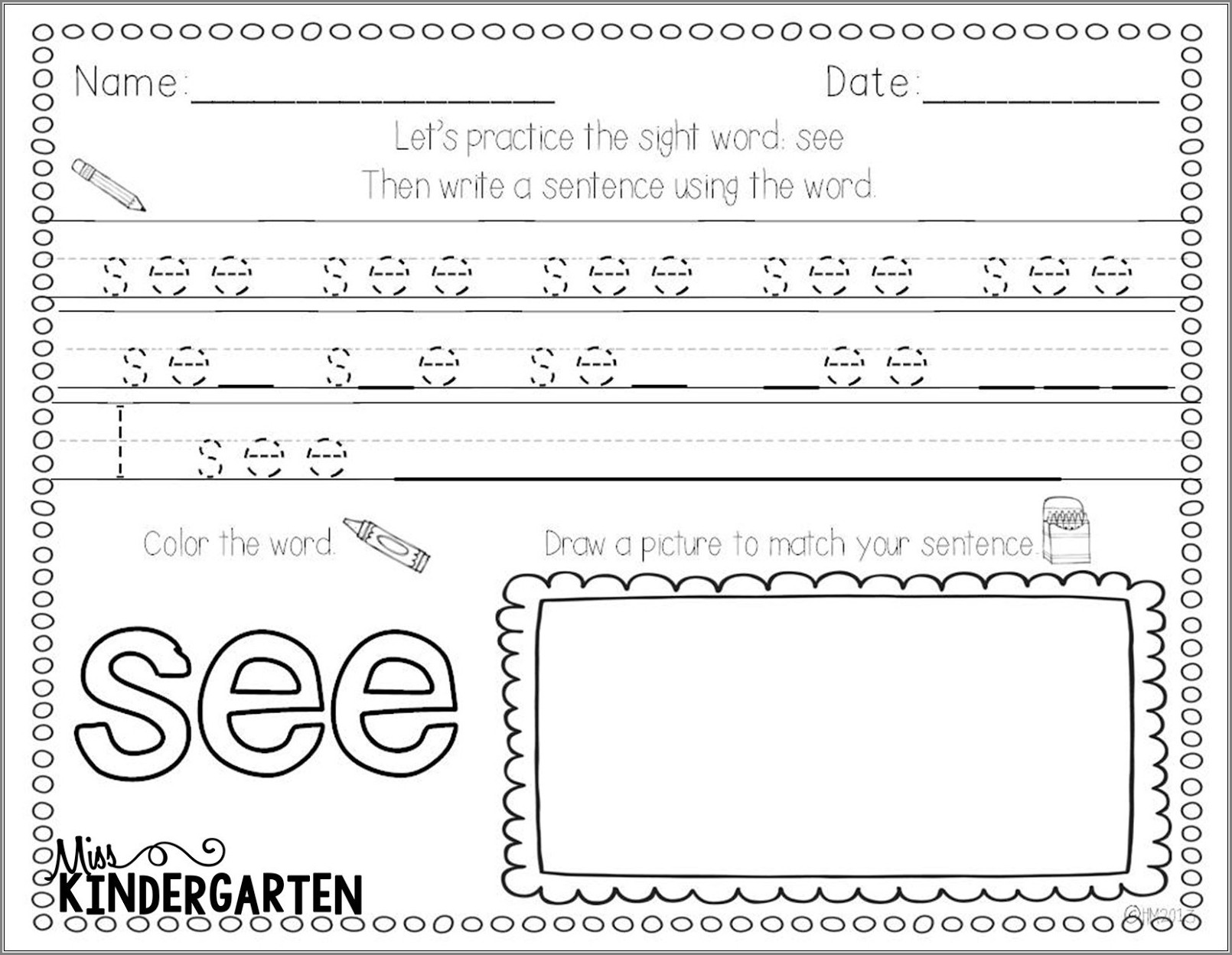 First Grade Worksheets English