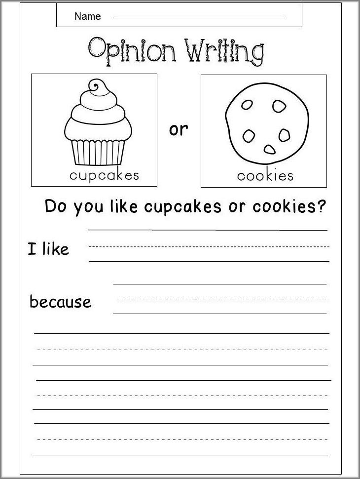 Free Printable 3rd Grade Writing Worksheets