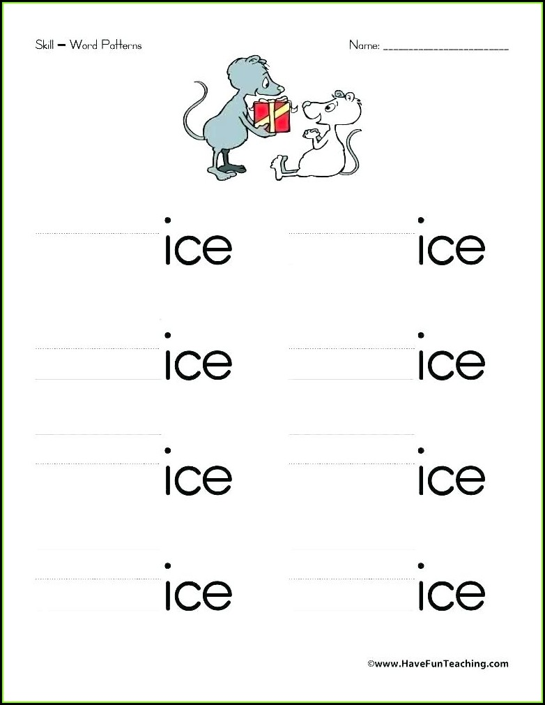 Free Printable Am Word Family Worksheets