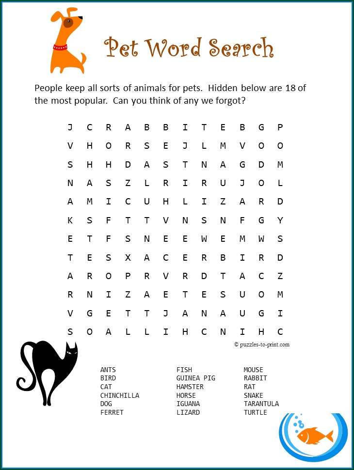 Free Printable Camping Word Search