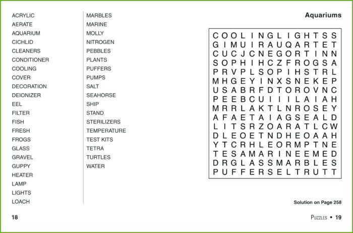 Free Printable Word Search Large Print