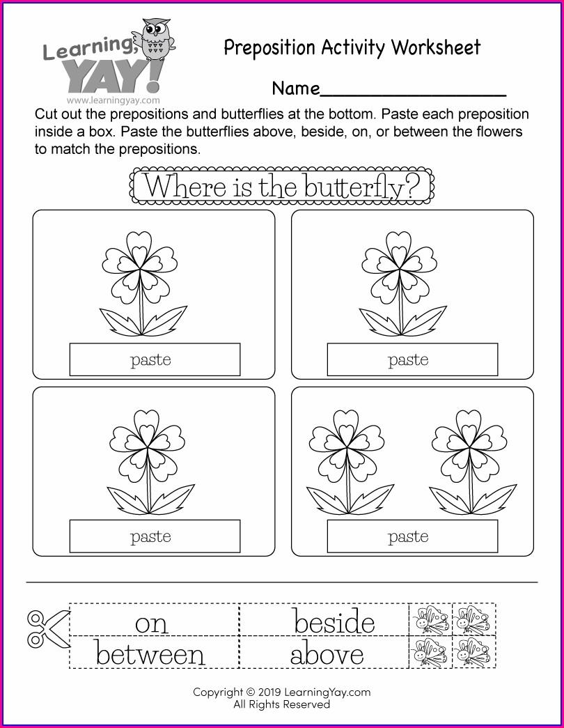 Free Printable Writing Worksheet 1st Grade
