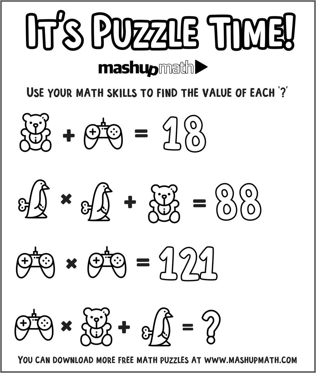 Fun 2nd Grade Math Worksheets