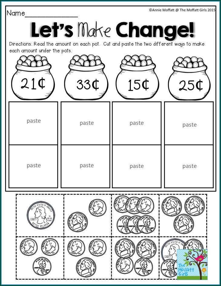Fun Math Money Worksheets