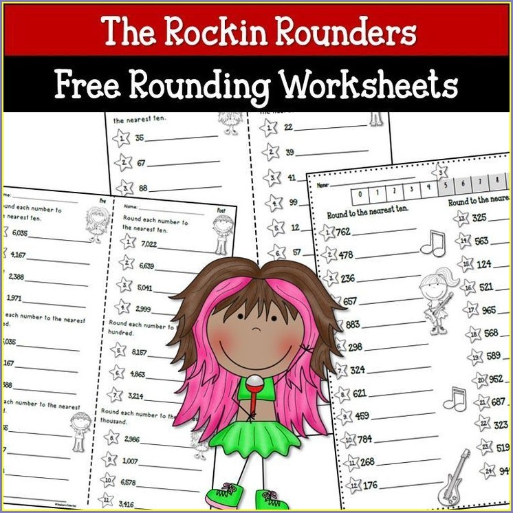 Fun Math Rounding Worksheets