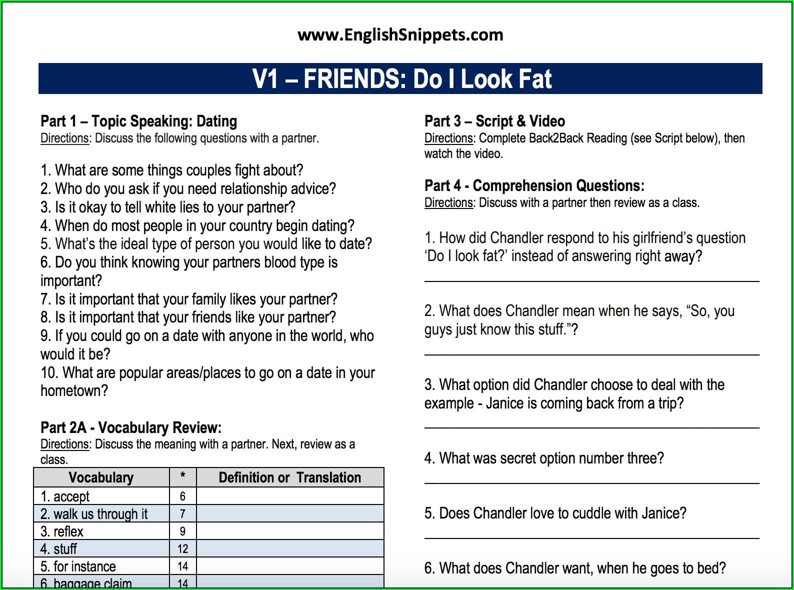 Grade 1 Class 1 English Worksheet