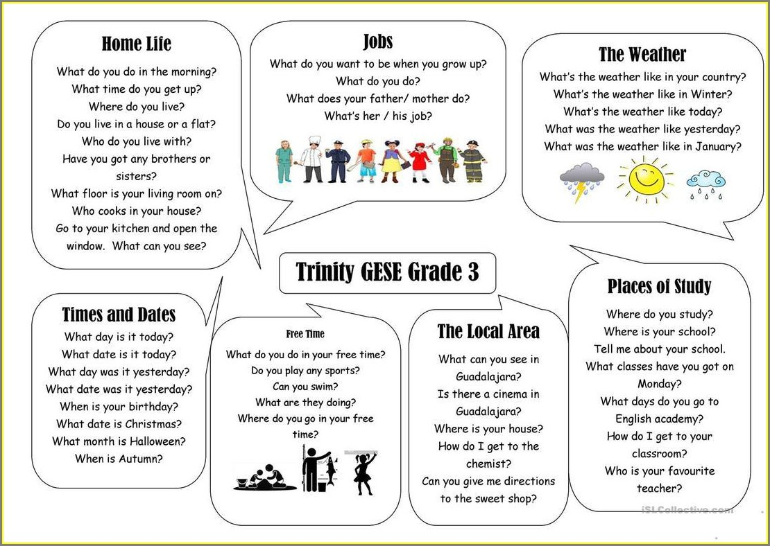 Grade 1 English Activity Worksheets