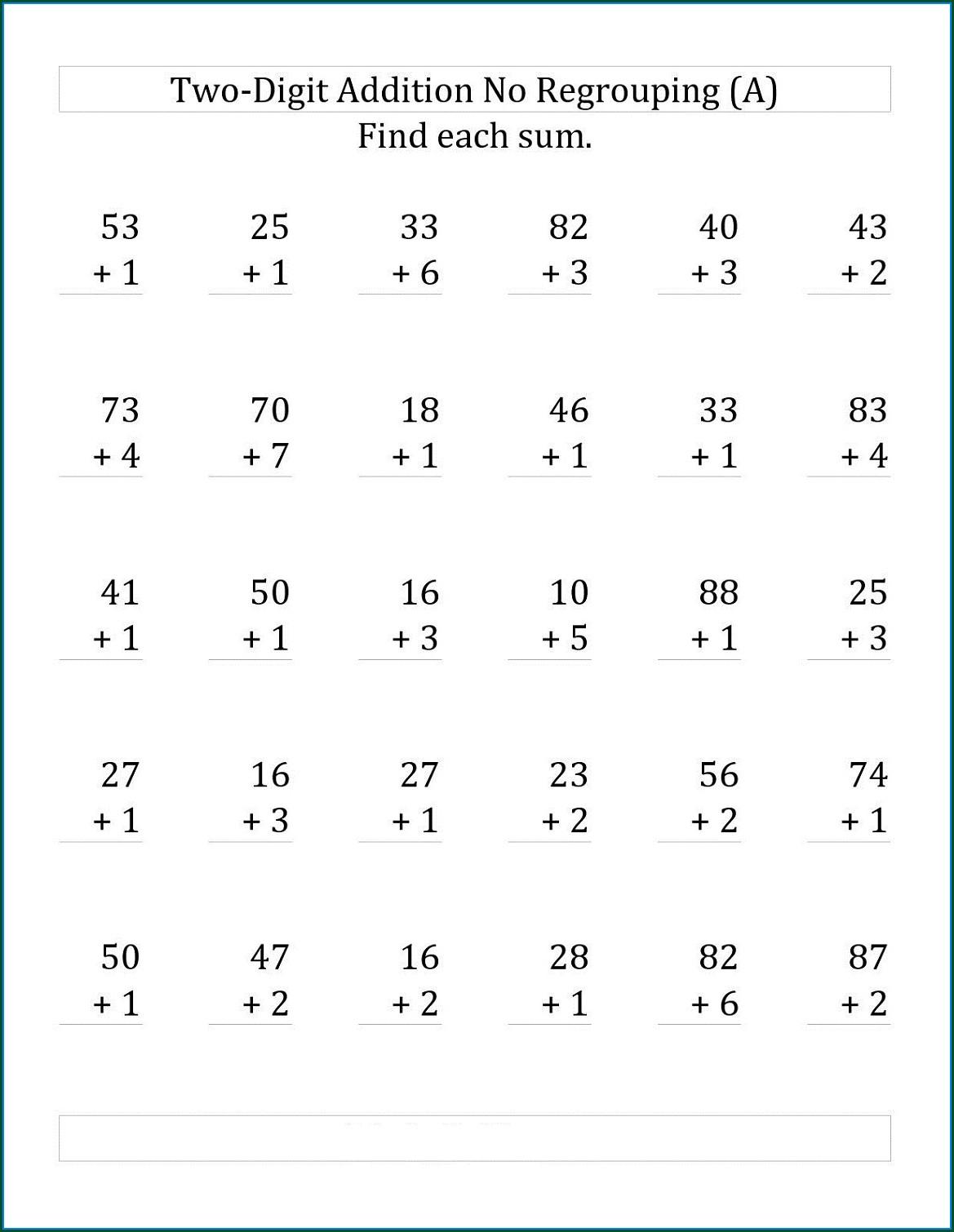 Grade 2 3 Digit Addition Worksheets