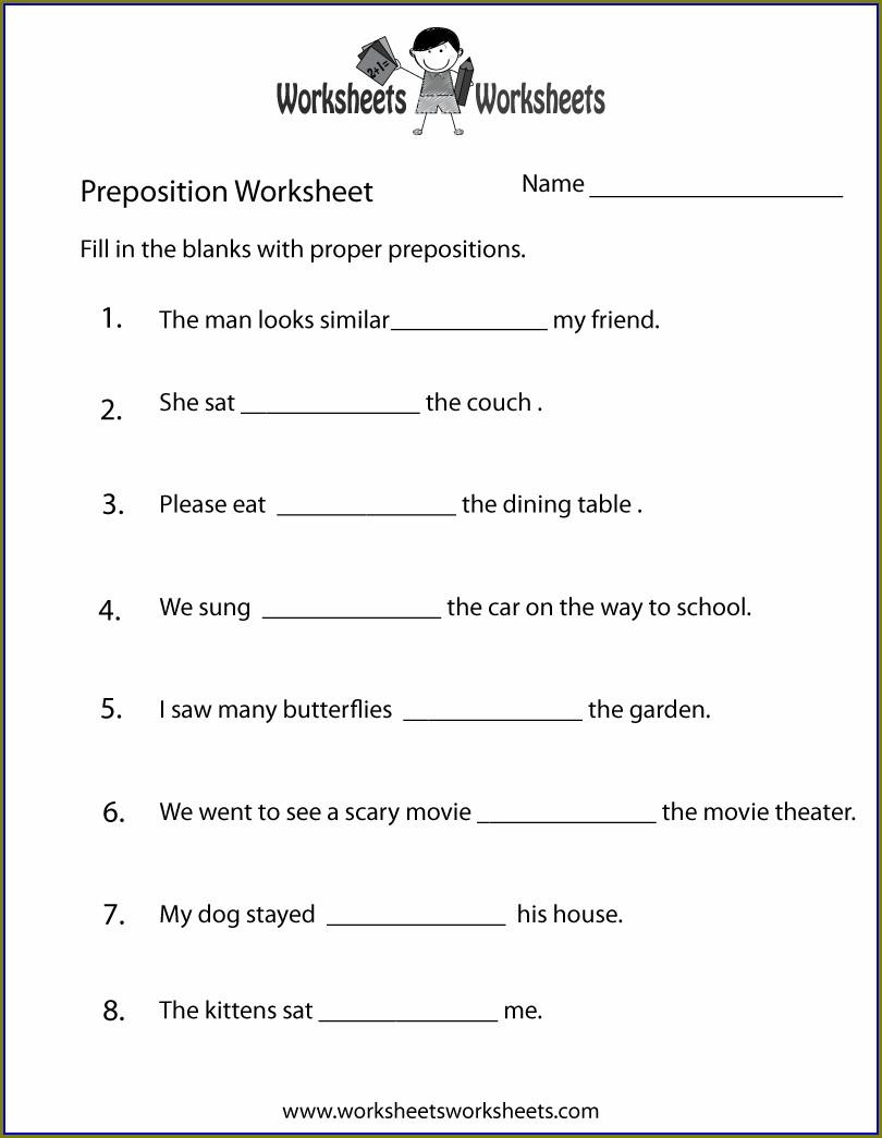 Grade 2 English Worksheets To Print