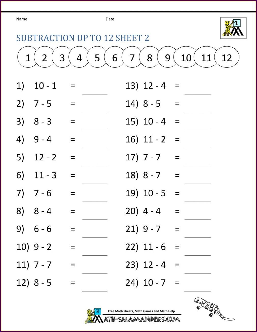 Grade 2 Math Worksheets Printable