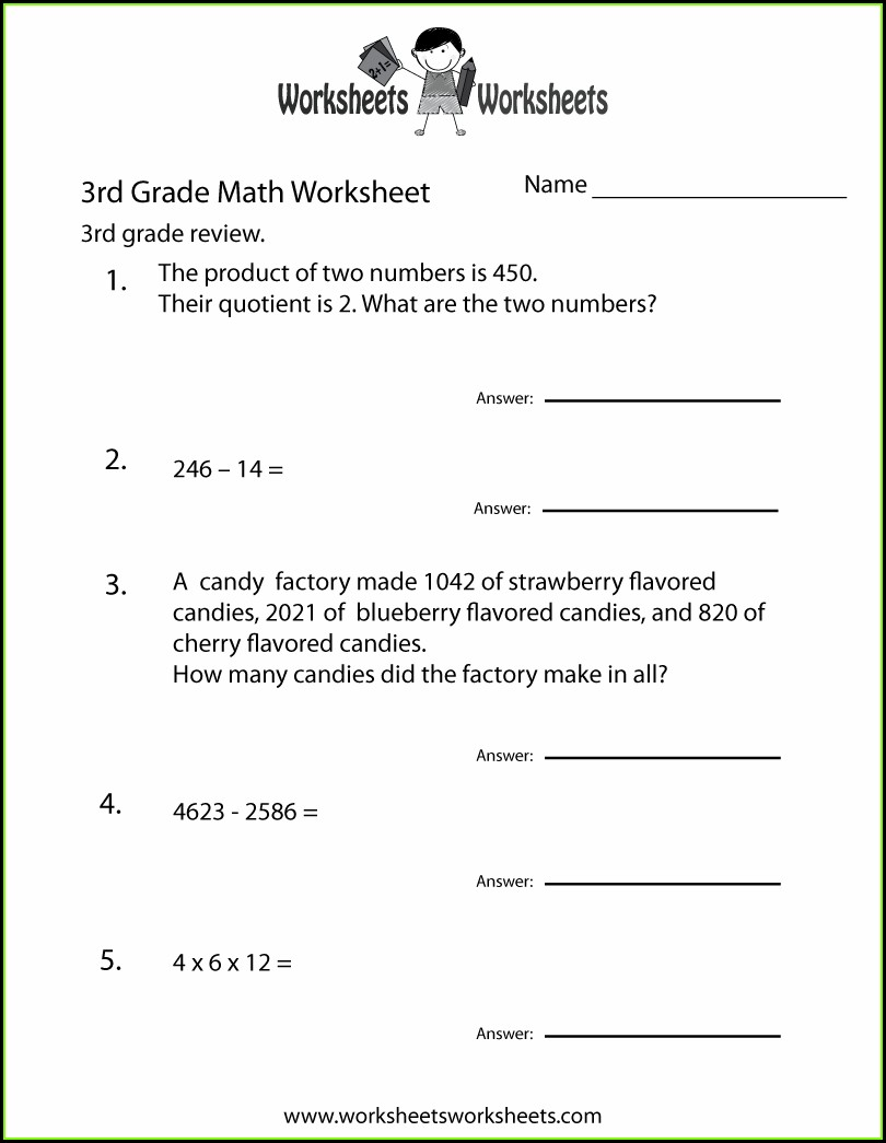 Grade 3 3rd Grade English Worksheets Pdf