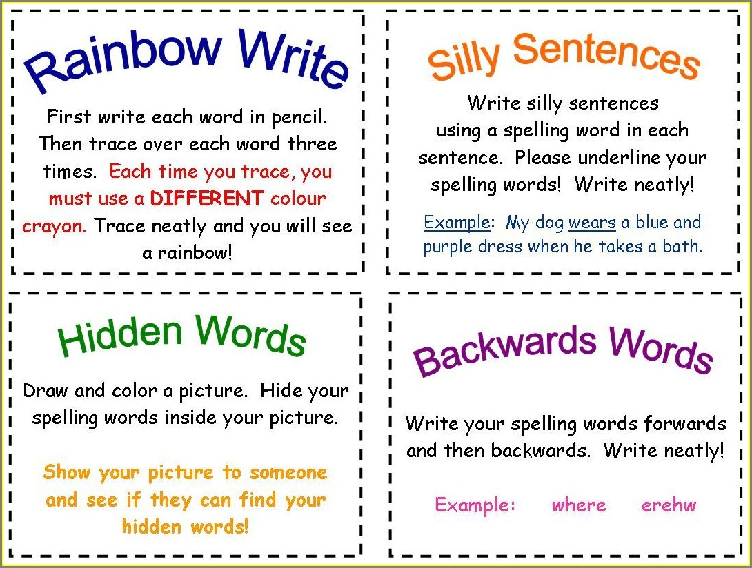 Grade 3 Spelling Worksheets Printable