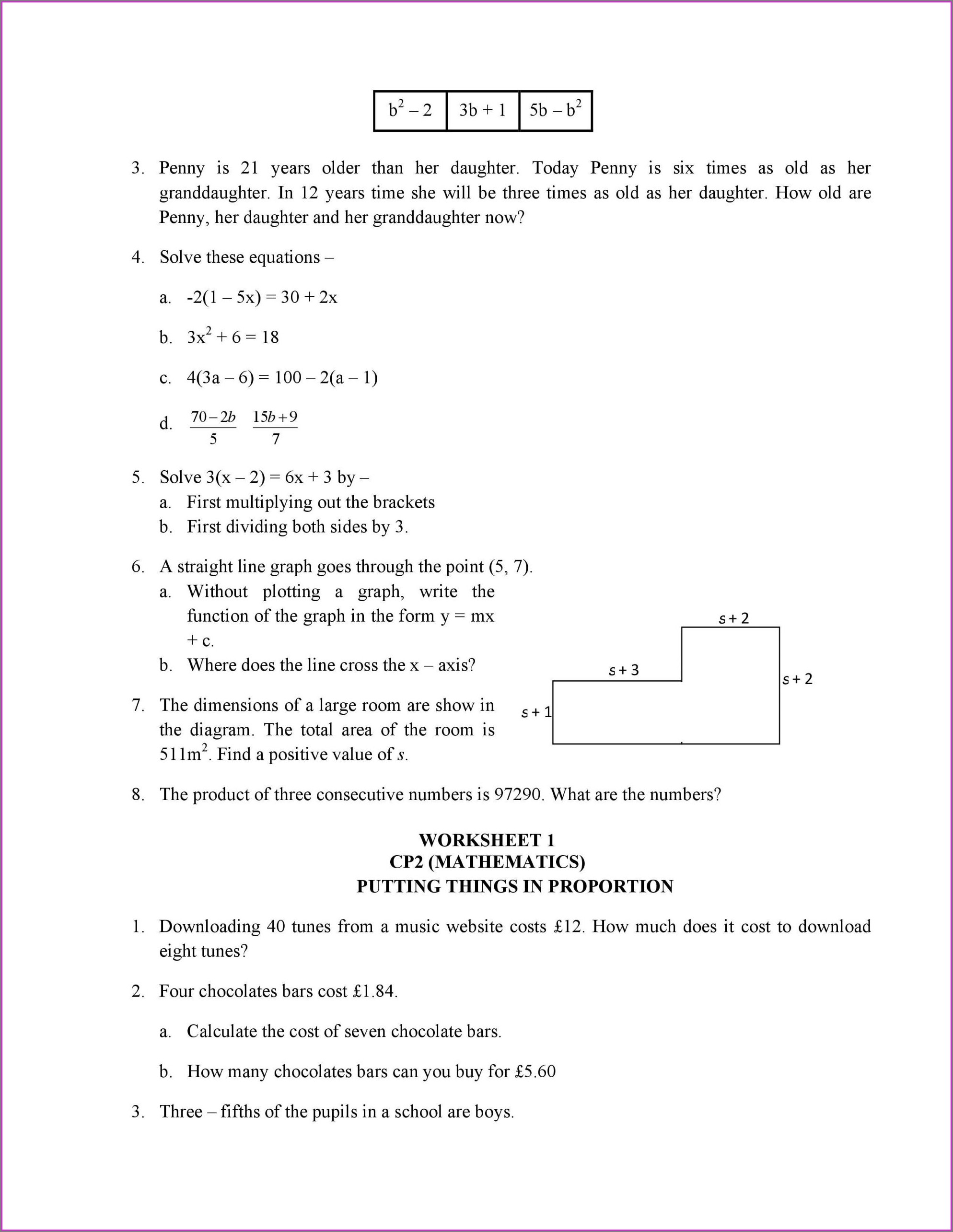 Grade 4 Math Geometry Worksheets