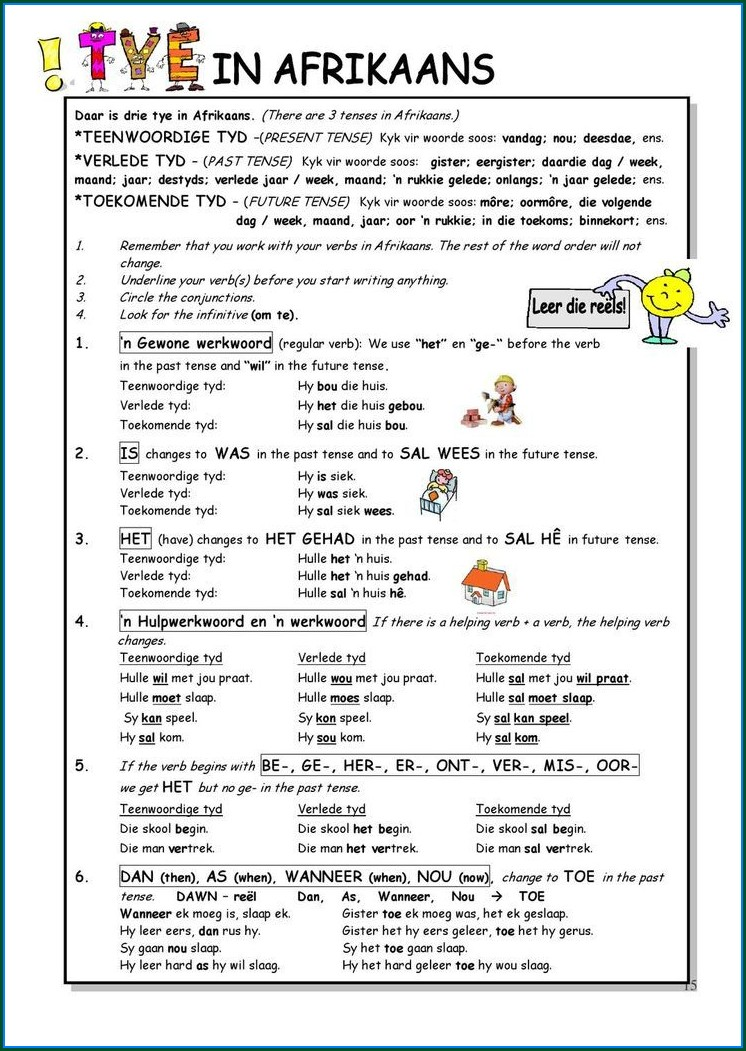 Grade 6 Language Worksheets