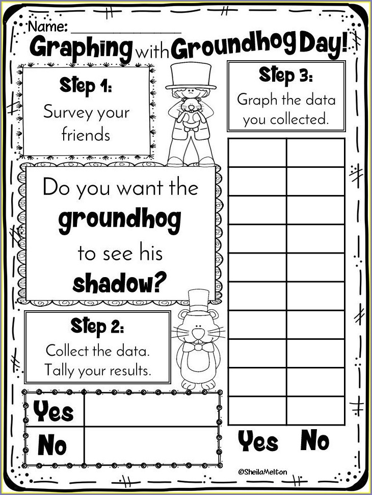 Groundhog Day Worksheets Grade 2
