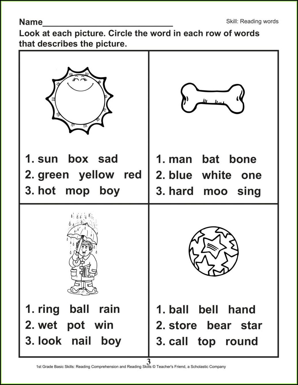 Handwriting 1st Grade Worksheets Pdf