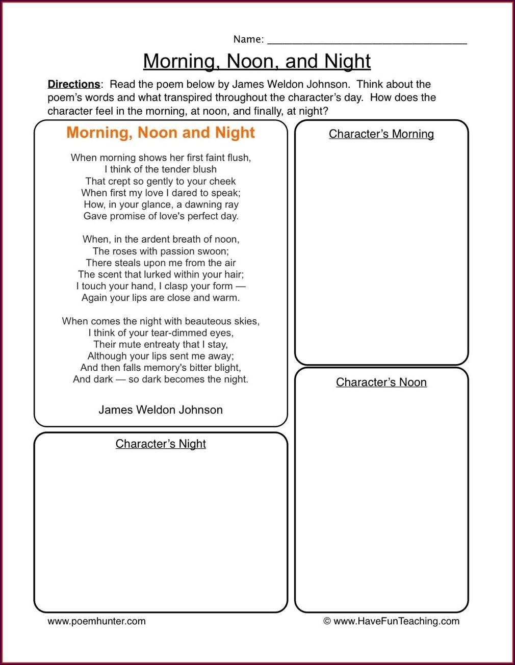 Have Fun Teaching Telling Time Worksheets