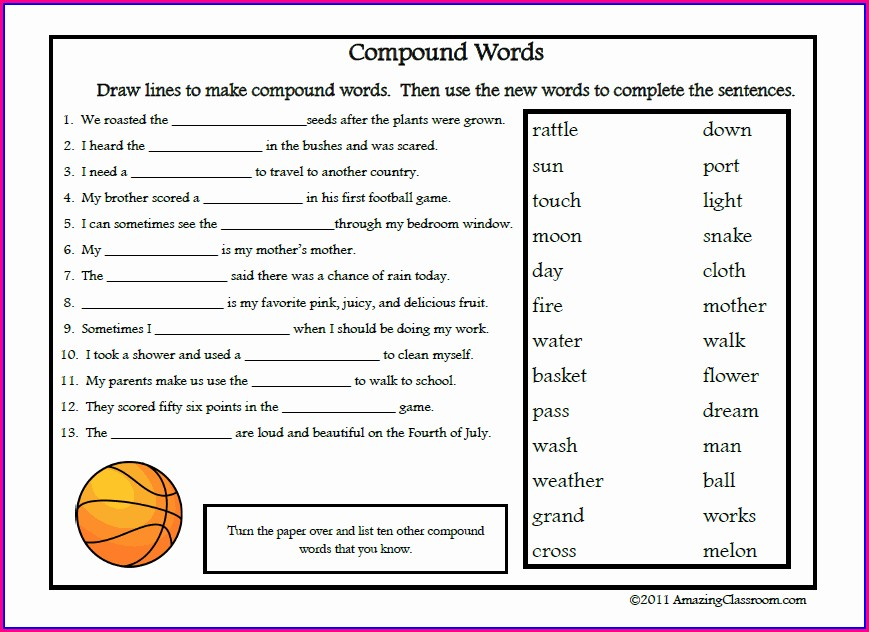 High School Vocabulary Worksheets Pdf