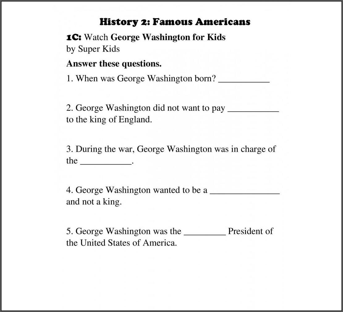 Homeschool 2nd Grade Science Worksheets