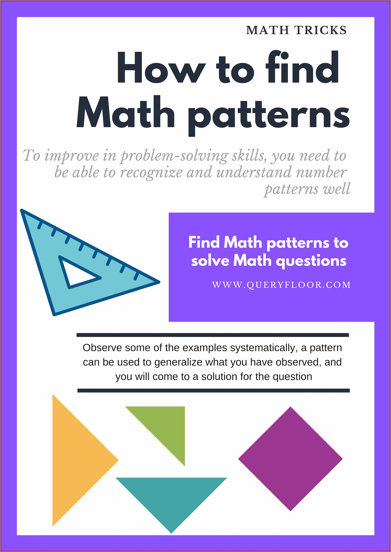 Interesting Number Patterns In Maths