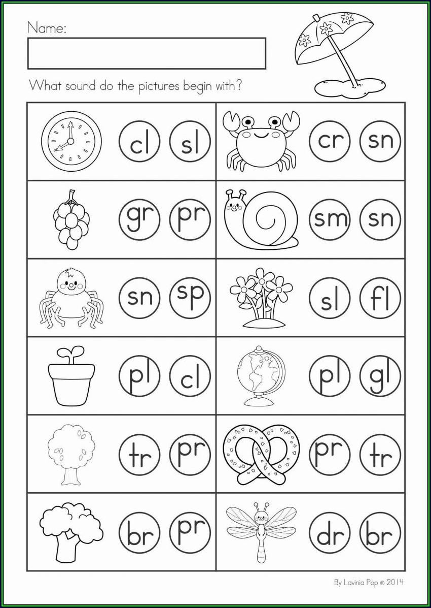 Kindergarten Worksheets On Animals