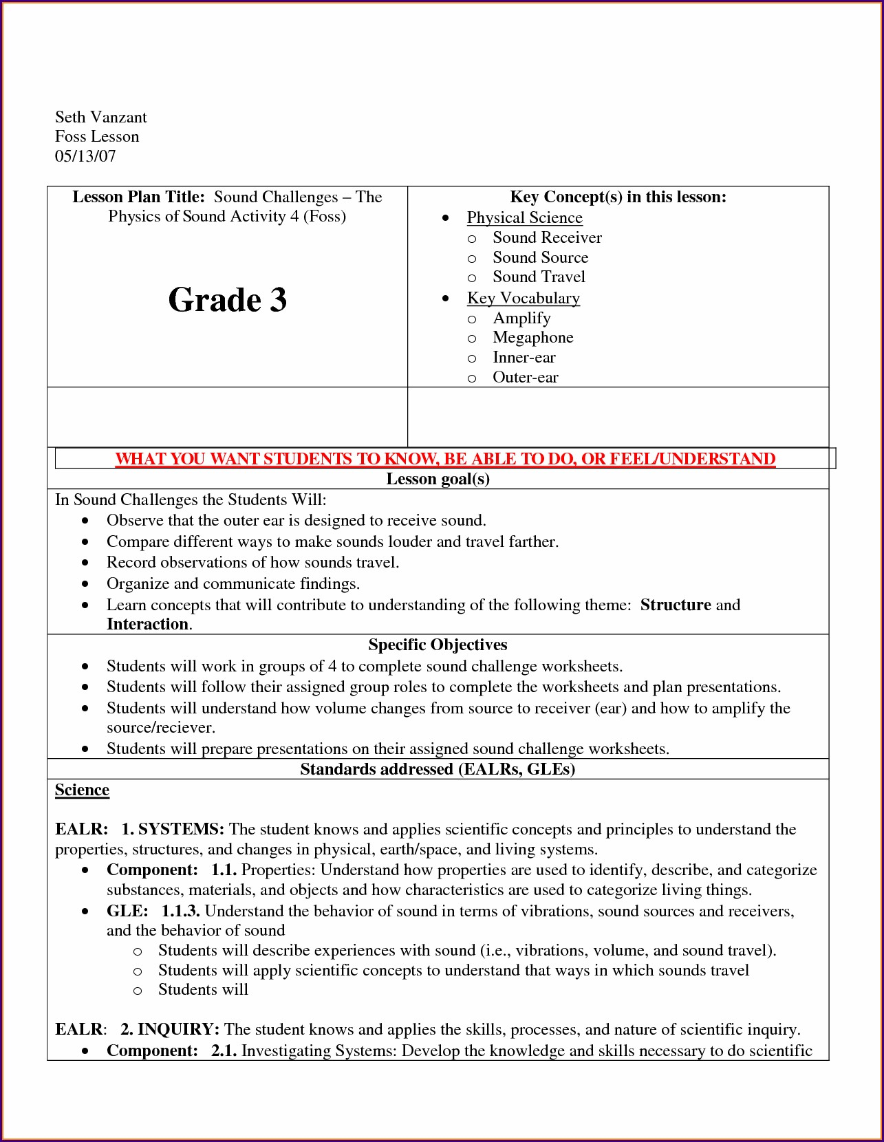 Light Energy Worksheets 2nd Grade
