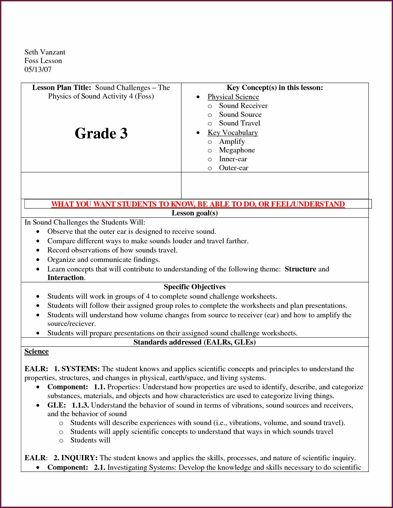 Light Energy Worksheets 2nd Grade