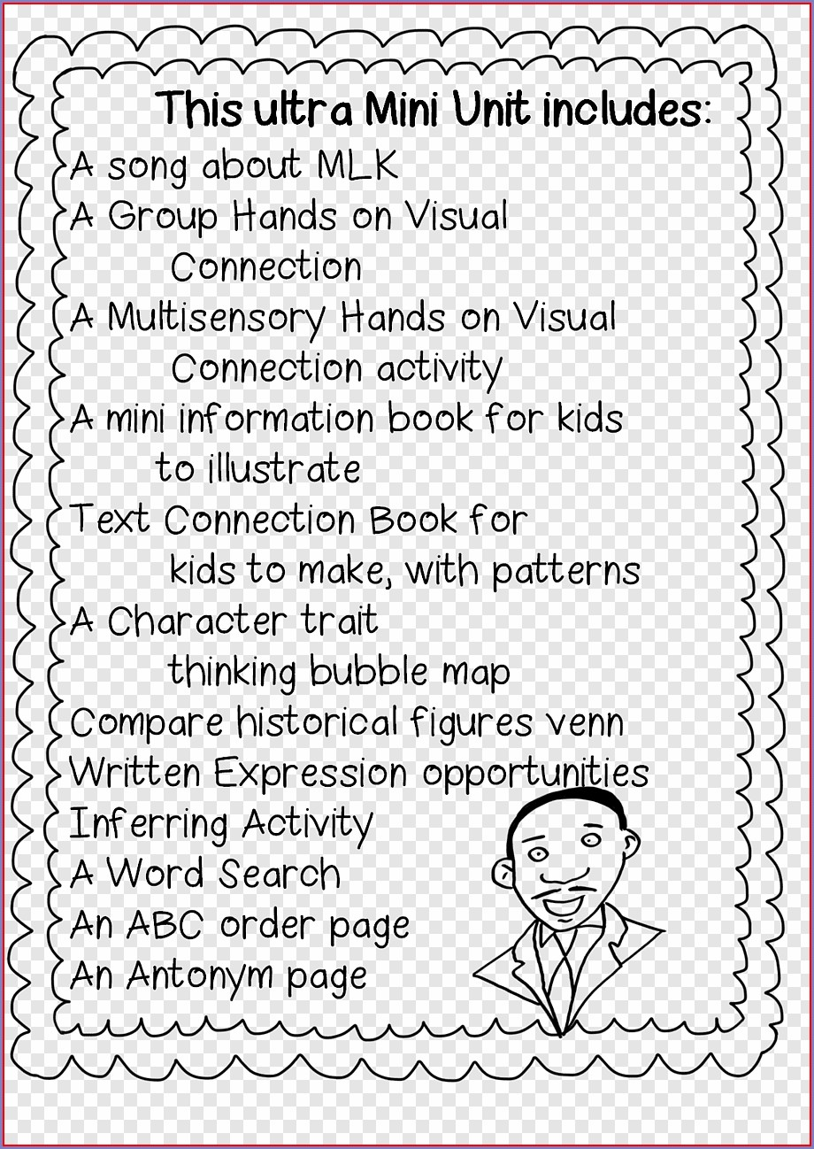 Martin Luther King Jr Maze Worksheet