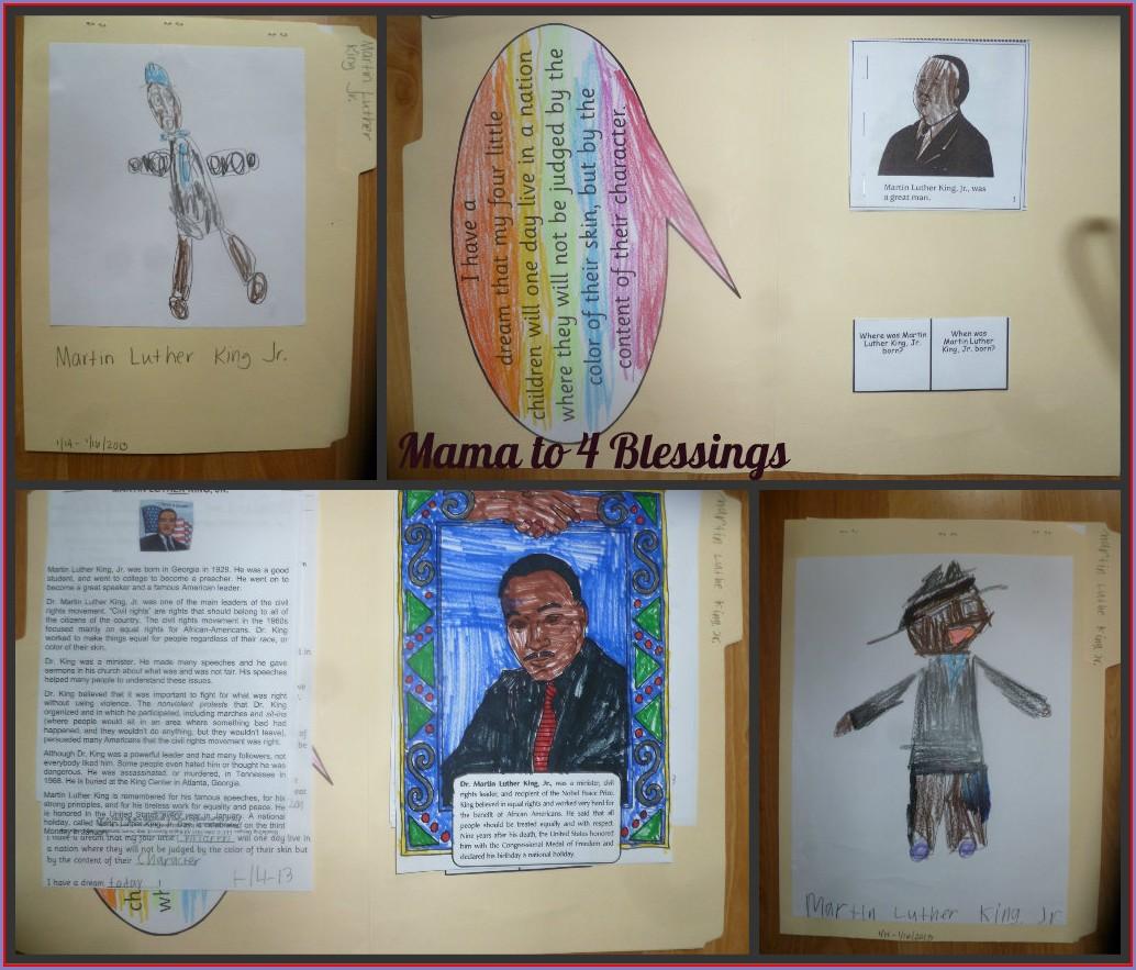 Martin Luther King Jr Worksheets Grade 1
