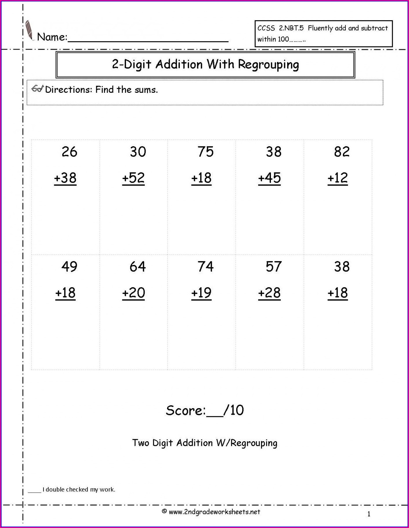 Math Word Problem Worksheet For Grade 1