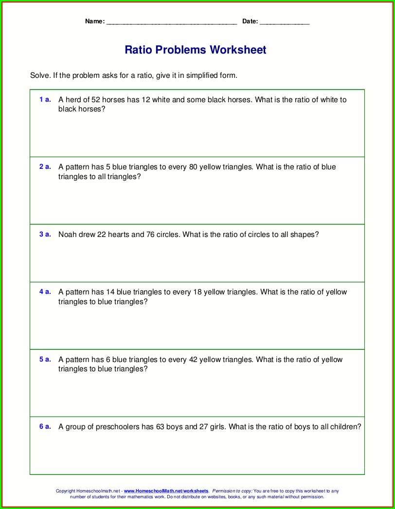 Math Word Problem Worksheets Spanish