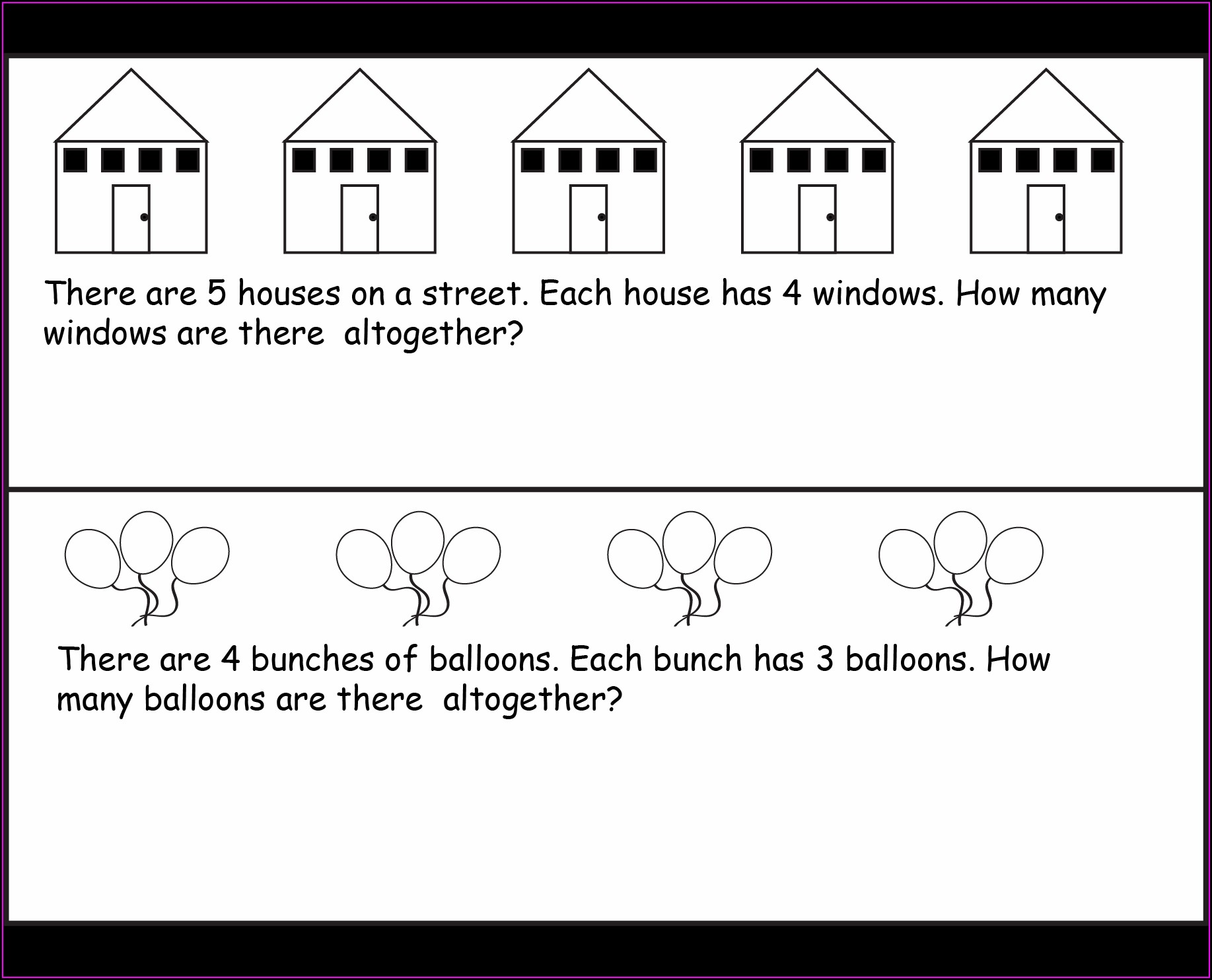 Math Word Problems Worksheets For Grade 2