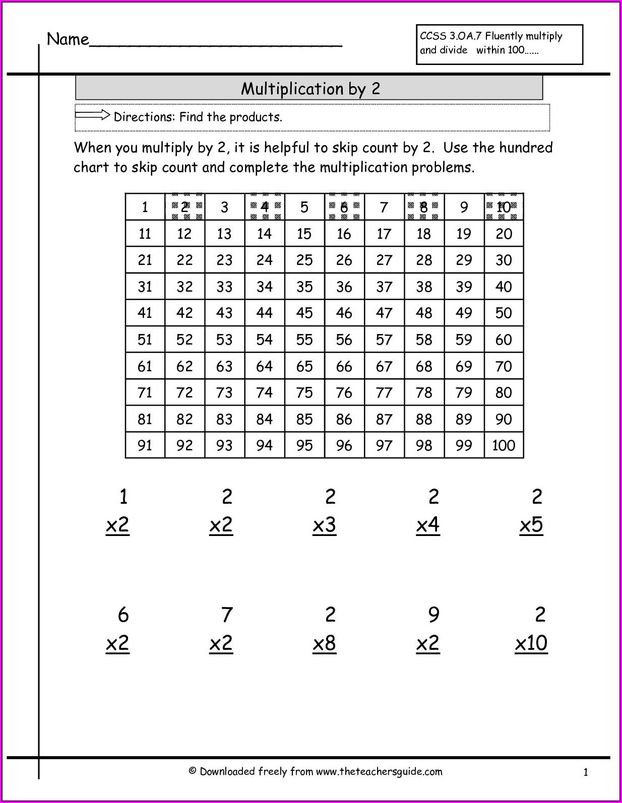Math Worksheet Grade 9 Pdf