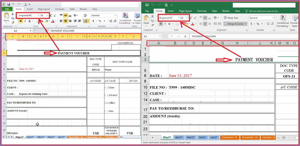 Microsoft Excel File Format