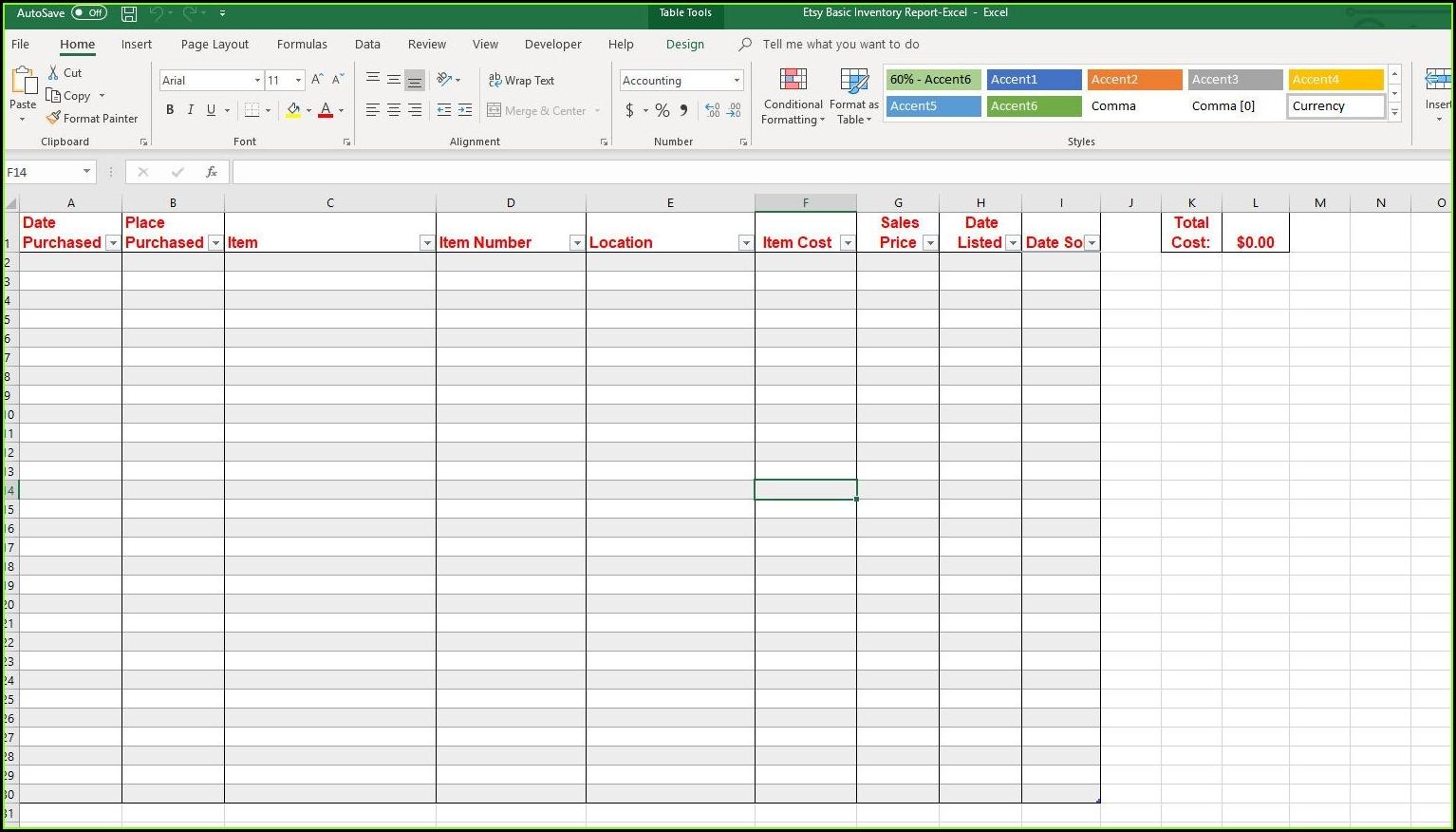 Microsoft Excel Sample Spreadsheets