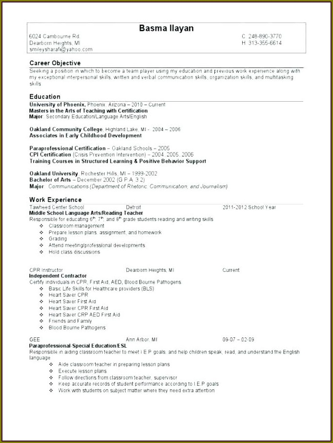 Middle School Organization Worksheets