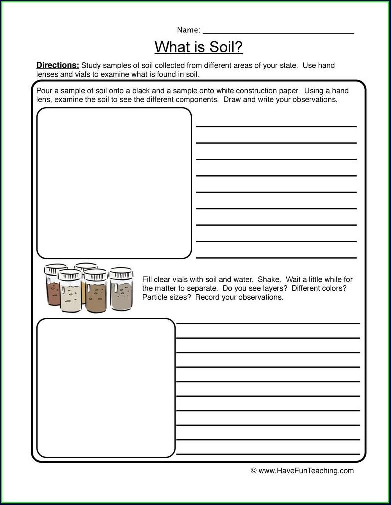 Middle School Properties Of Minerals Worksheet