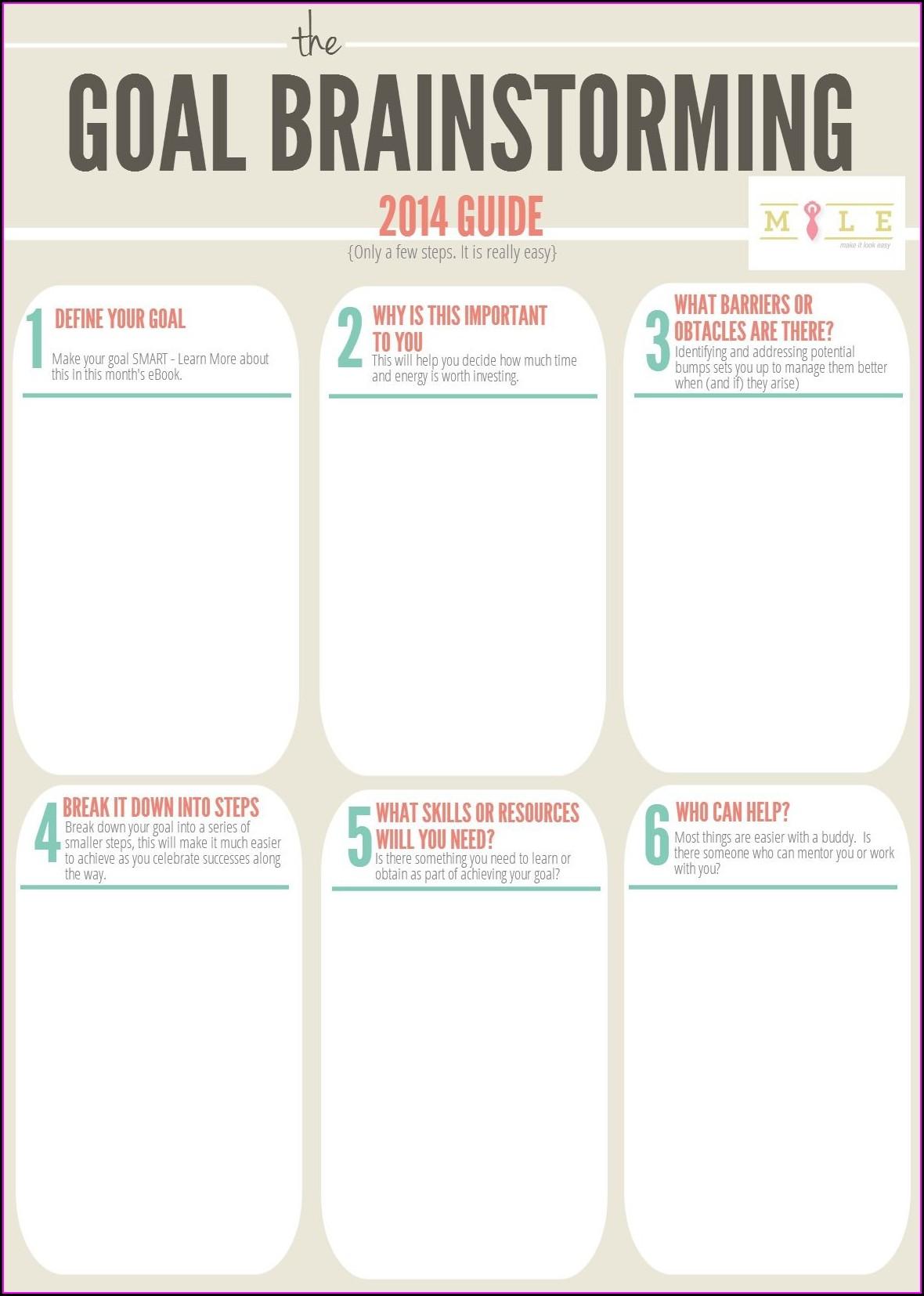Motivational Interviewing Goal Setting Worksheet
