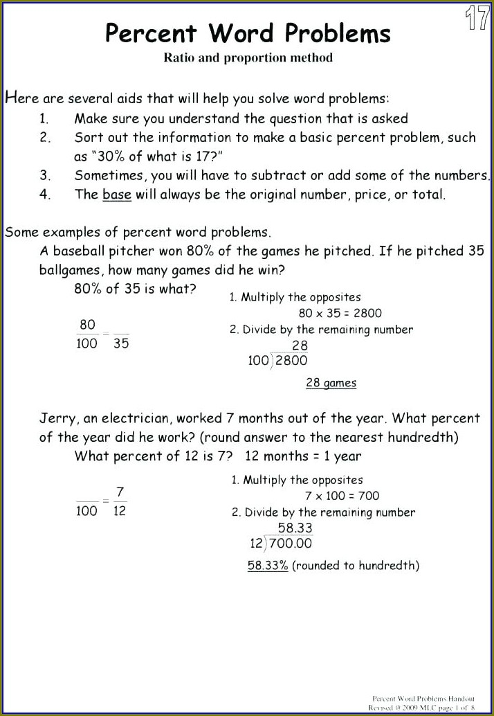 Multiplication Decimals Worksheet Word Problems