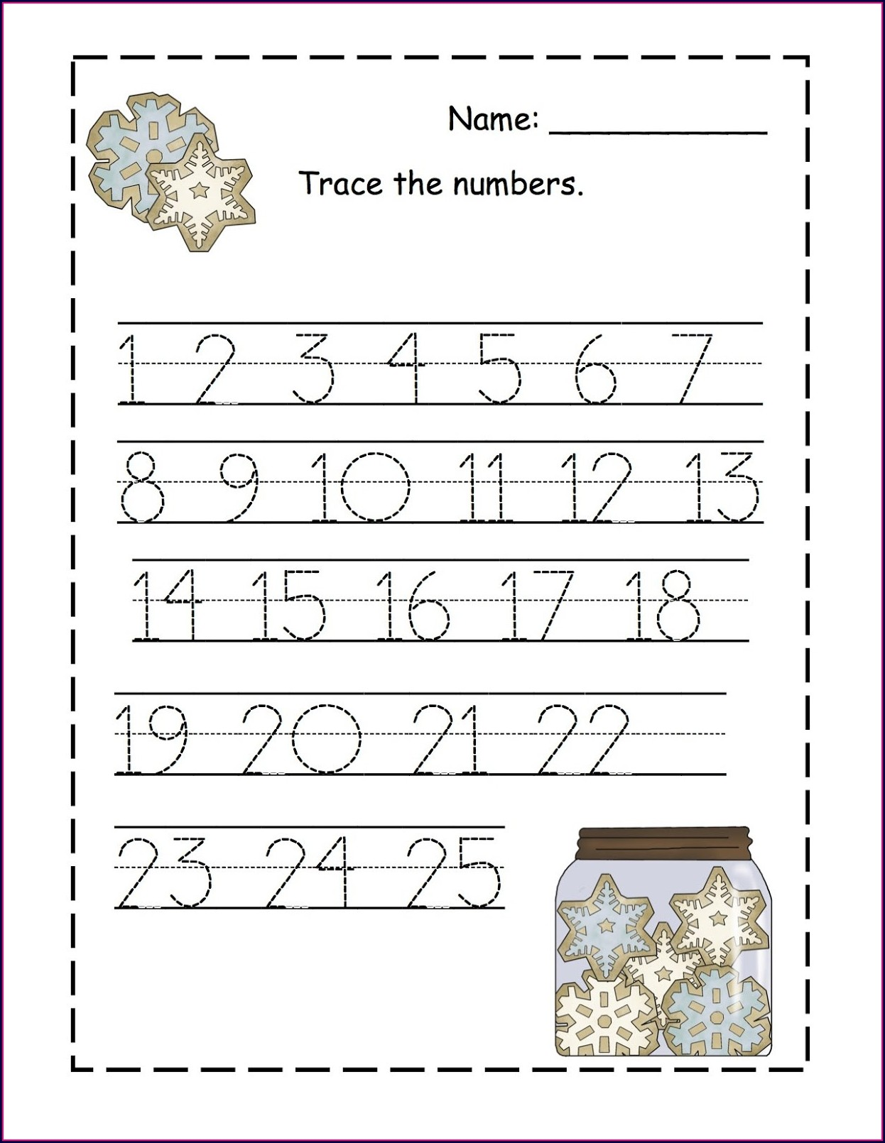 Number 11 Tracing Worksheets For Preschool