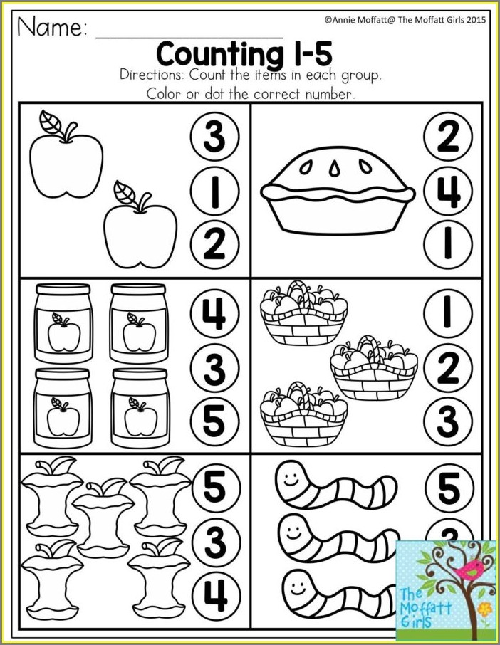 Number 5 Tracing Worksheets For Preschool