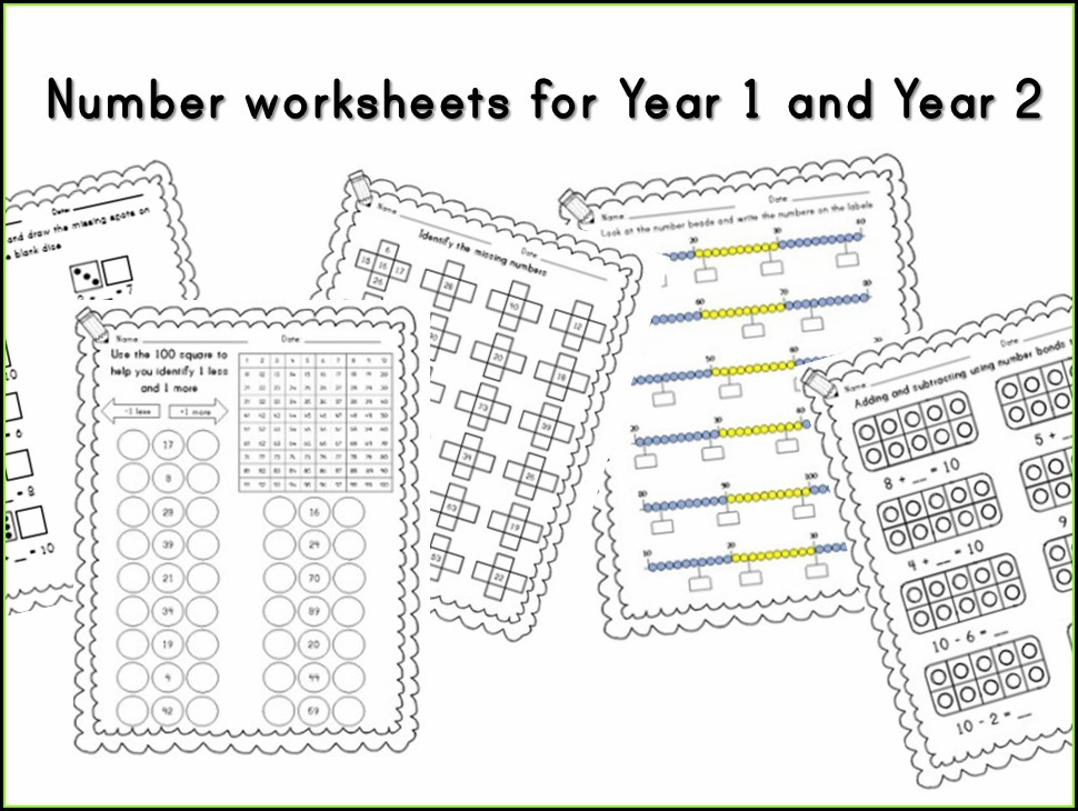Number Bonds To 10 Worksheet Tes