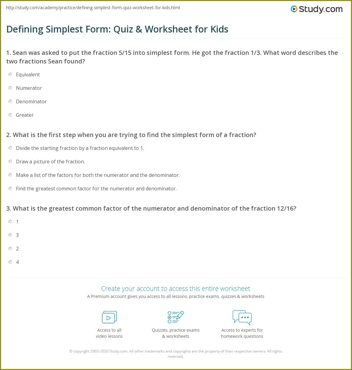 Number Line Maths Worksheet